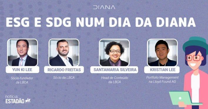 ESG e SDG num dia da Diana